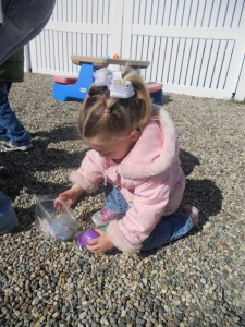 Toddlers discover something new each day!